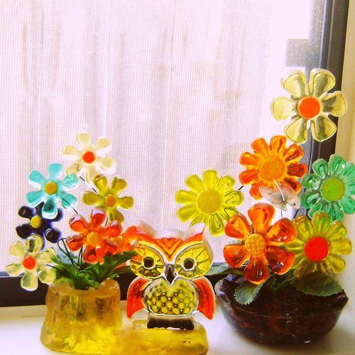 Flowers&owl1