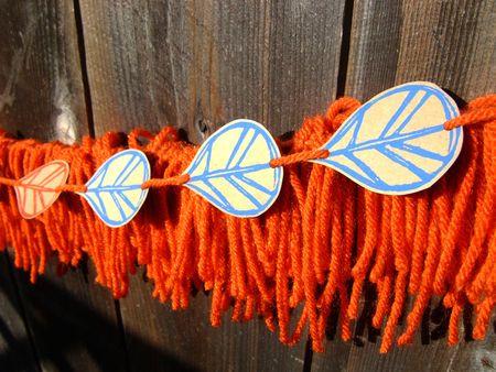 Yarn garland 1