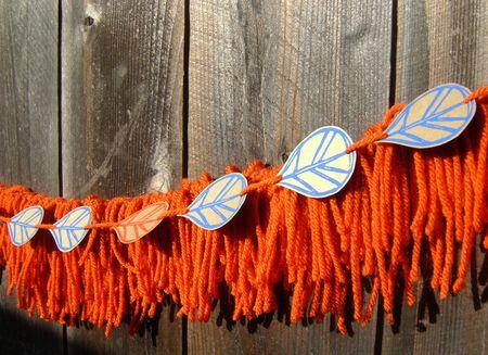 Yarn garland 2