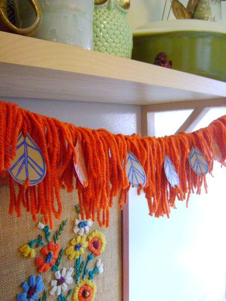 Yarn garland 6